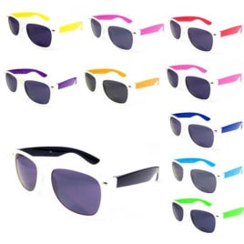 two tone sun glasses, colourful sunglasses, coloured sun glasses, two tone sunglasses.