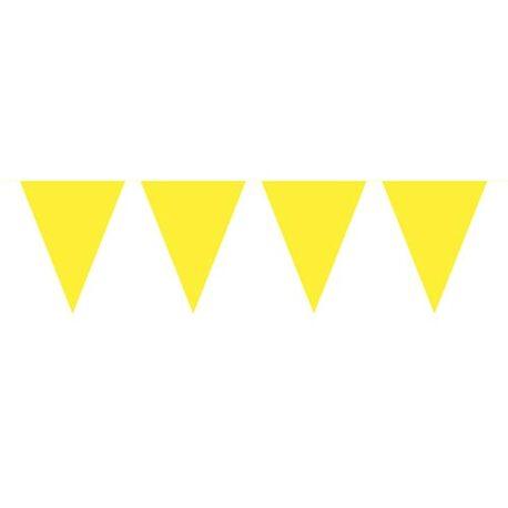 10m yellow bunting