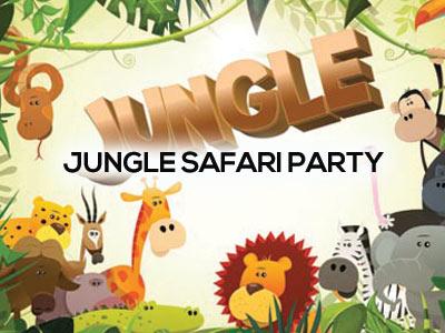 jungle safari party packs