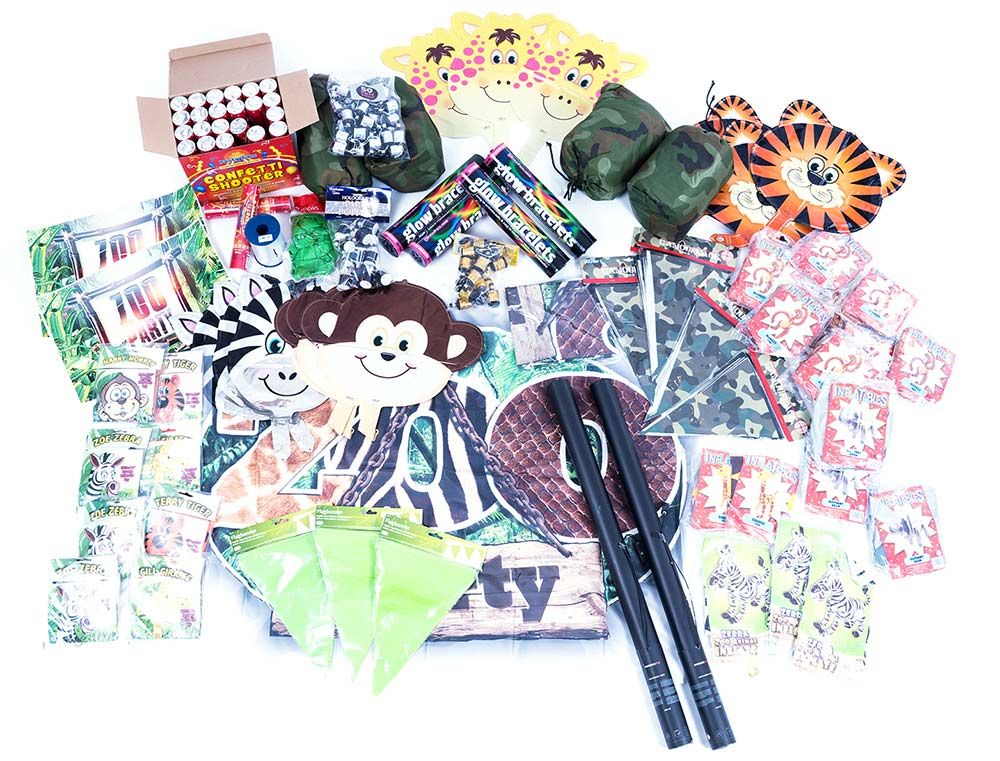 zoo party, safari party, animal themed events