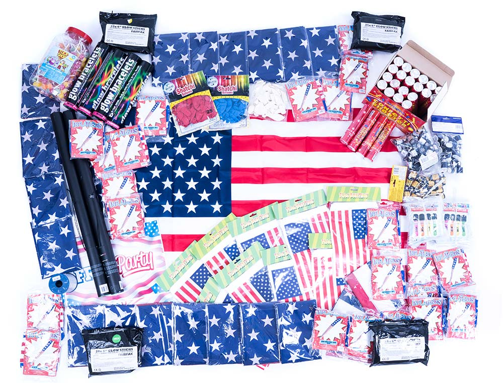 American USA Party Supplies, USA Party Decorations