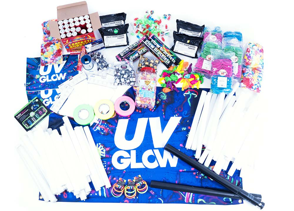 UV Glow Event Care Packages, UV Party Gloucestershire, UV Party UK
