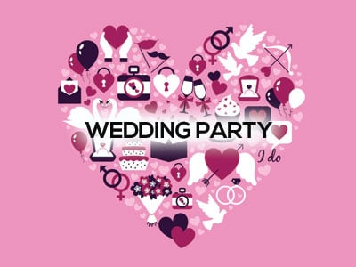 wedding party packs
