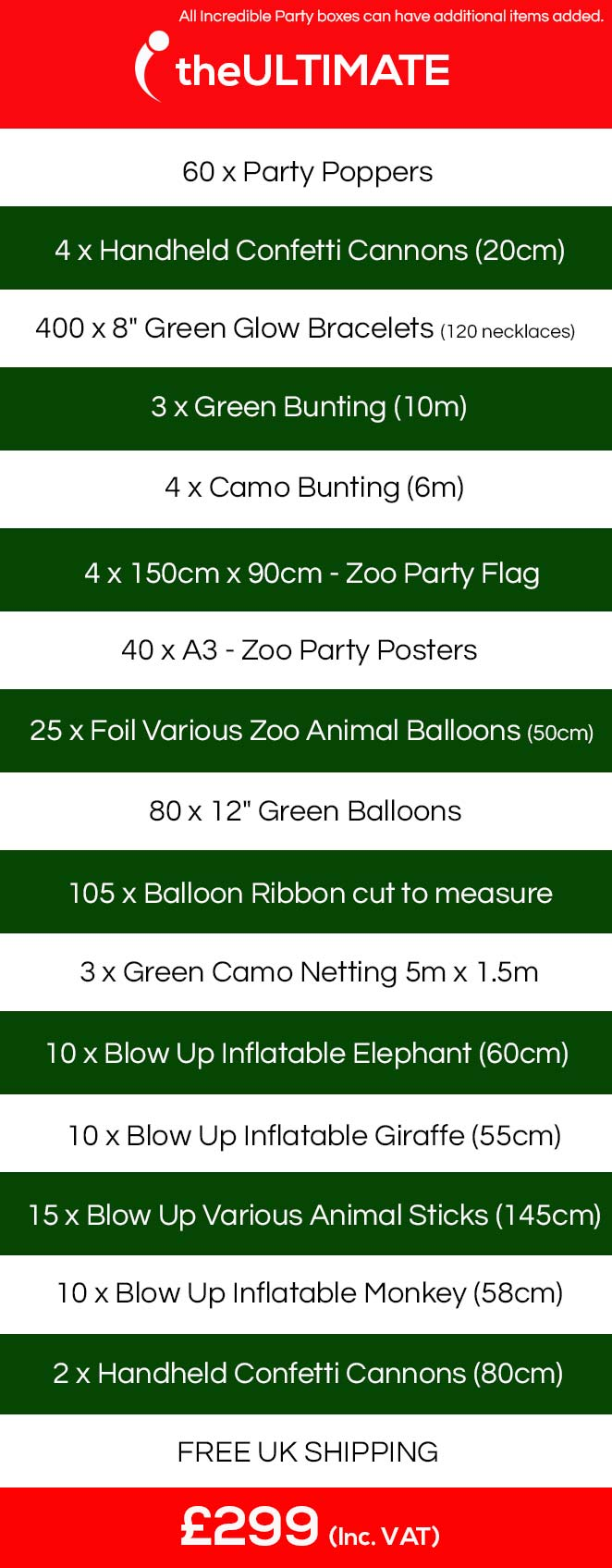Zoo Theme, Jungle Party, Animal Themed Events.