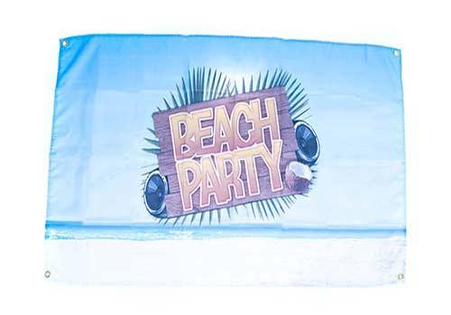 beach party flag, beach party ideas