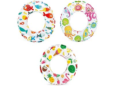 inflatable pool beach rings