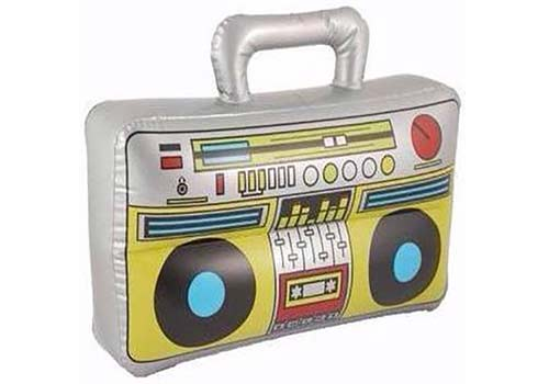 boom box inflatable, radio inflatable