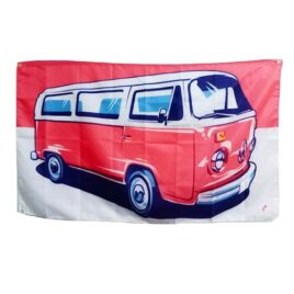 Campervan Flag, hippy flags, camper van banner