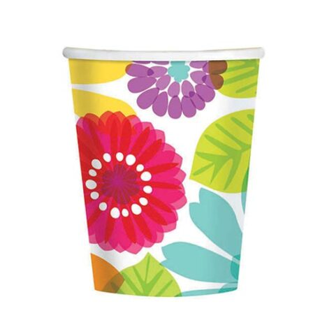 paradise paper cups