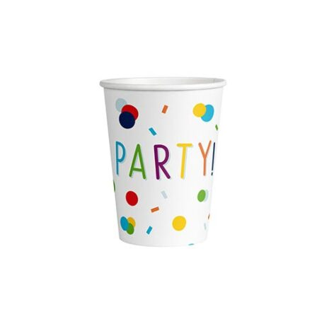 Birthday Party Paper Cups