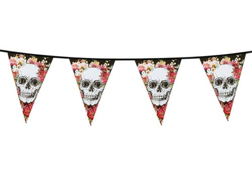 day of the dead bunting, cinco de mayo bunting