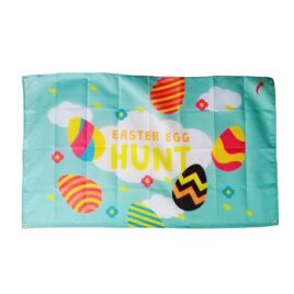 Easter Egg Hunt Flag, Easter Flags