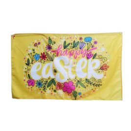 Happy Easter Flag, easter party flags