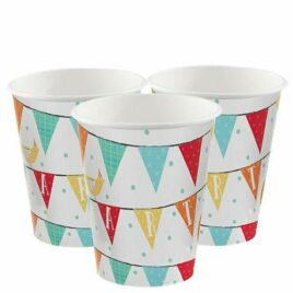 paper birthday cups