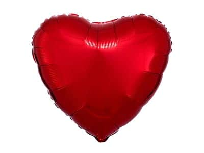 wedding heart balloons