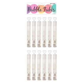 wedding heart bubble tubes