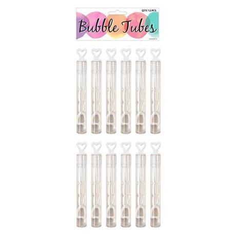 wedding heart bubble tubes