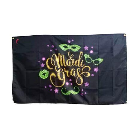 Mardi Gras Flag, carnival flags