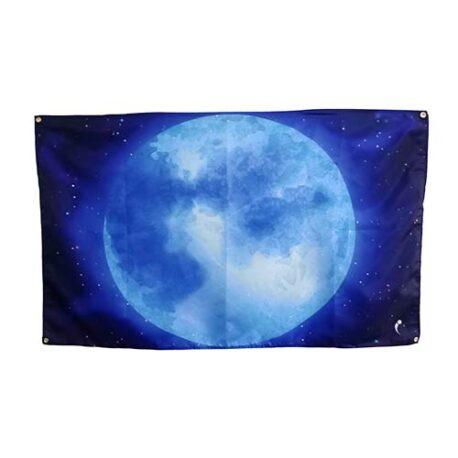 moon flag, space moon flags