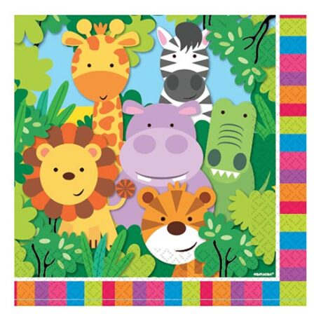 jungle safari napkins