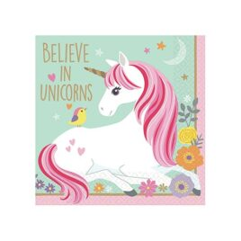 unicorn party napkins