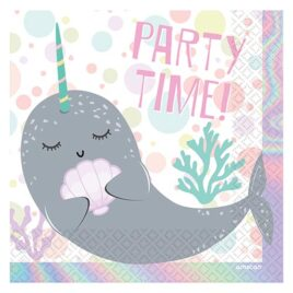 sea party paper napkins
