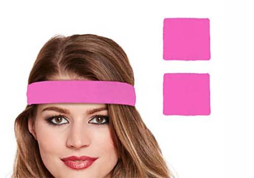 pink neon headbands
