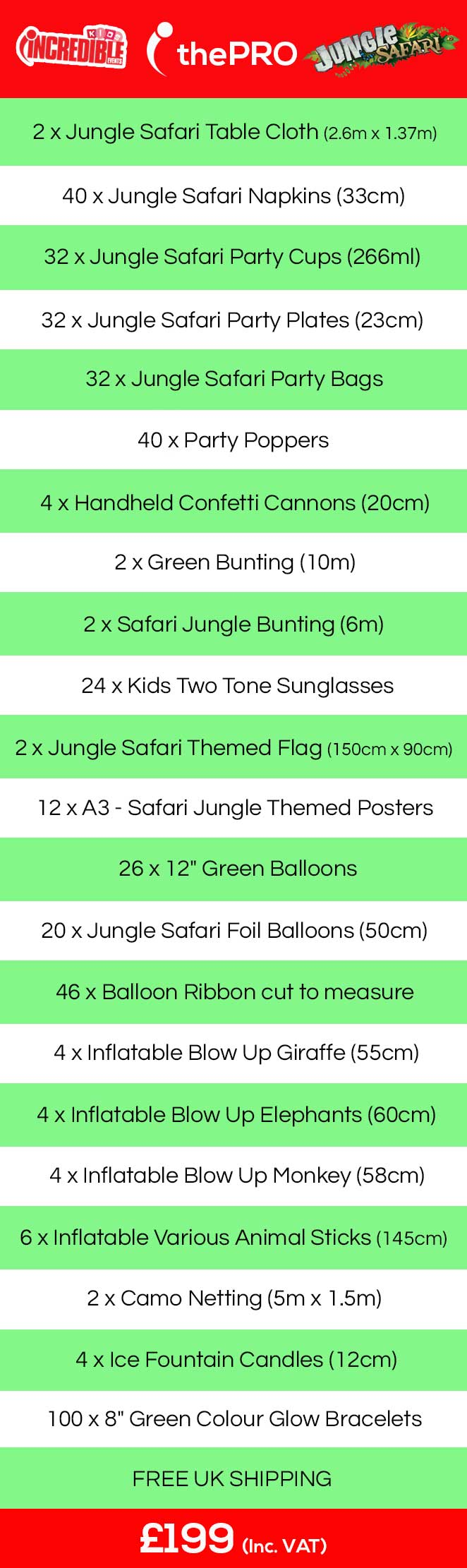 kids jungle safari birthday ideas