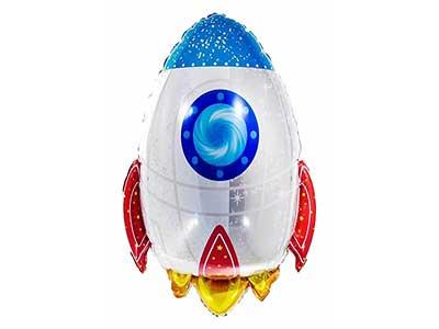 large space rocket balloon