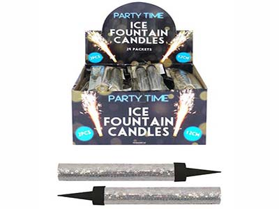 12cm candle fountains