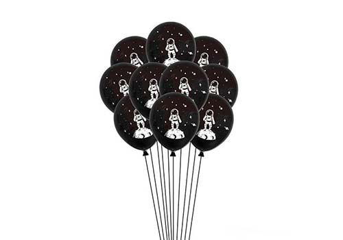 "Space party, 12"" space themed balloons"