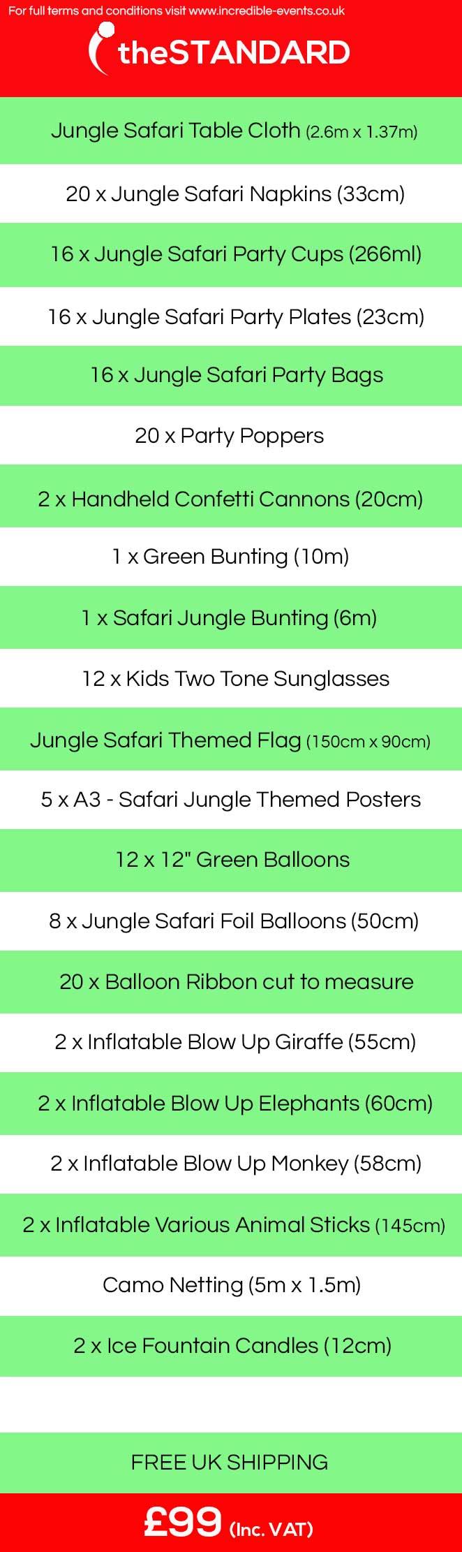 kids jungle safari birthday ideas