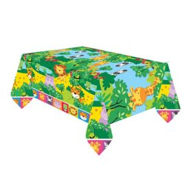 safari jungle tablecloth