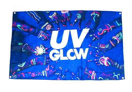 uv party flags