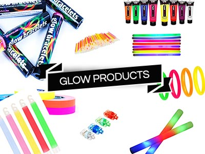 uv glow party products