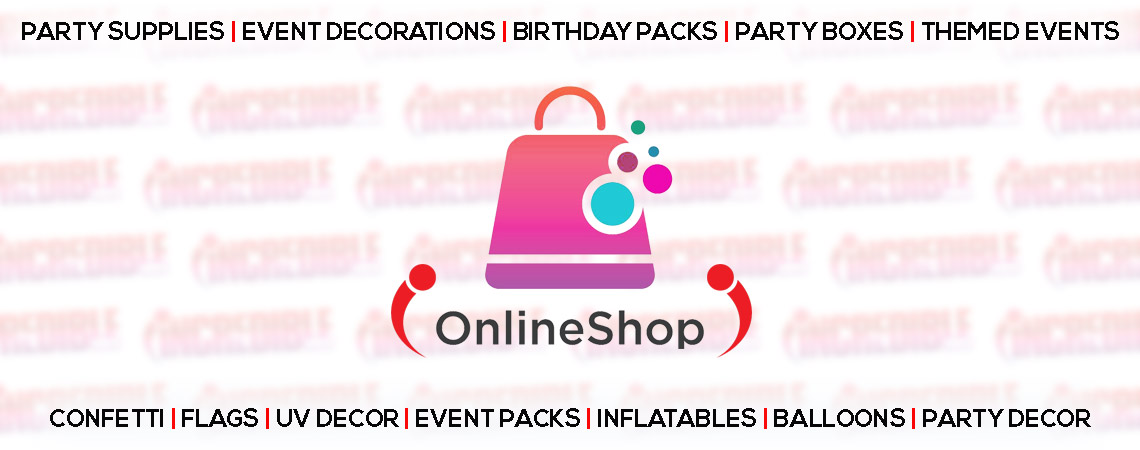 party decorations, birthday packs