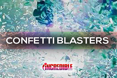 Confetti Blasters, Cannons, Shooters