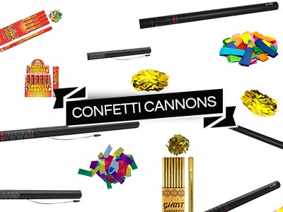 confetti cannon blasters shooters cannons