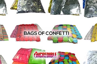 Bulk Confetti Bags