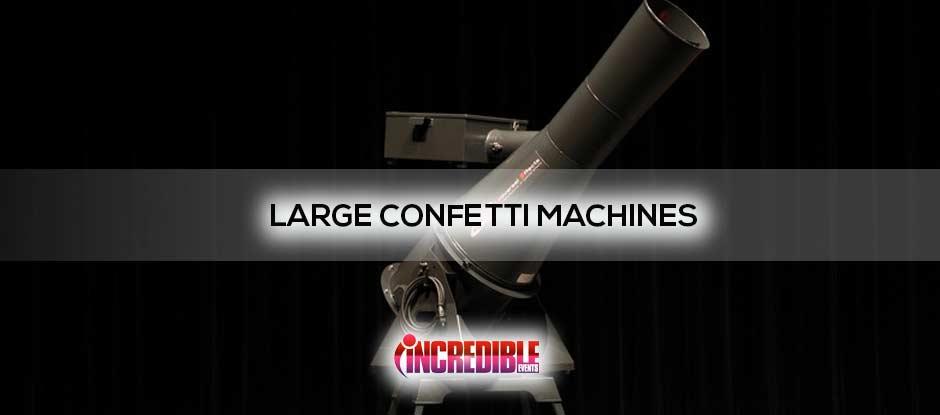 giant confetti machine