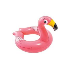 flamingo swim ring