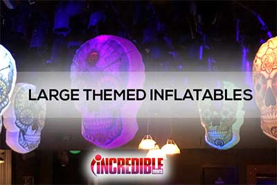 large themed inflatables