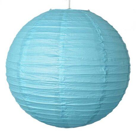 Blue Paper Lantern