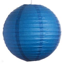 Dark Blue Paper Lantern