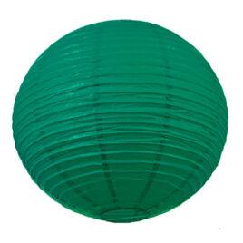 Dark Green Paper Lantern