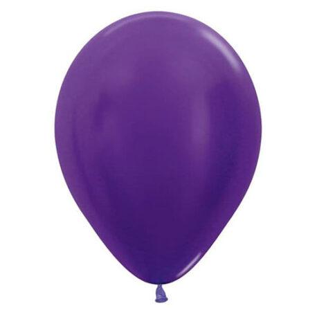 Purple balloons