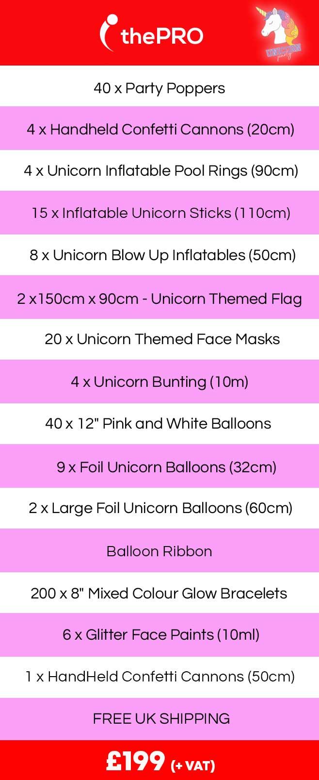 Unicorn Theme, Unicorn Party, Unicorn Party Supplies.